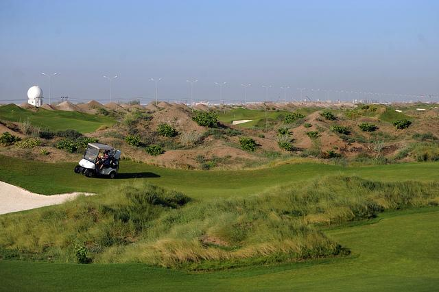 Golf Course in  AlMouj Golf